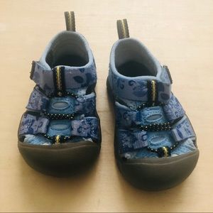 Keen BIG KIDS' NEWPORT H2 Sandals - Hawaiian Print
